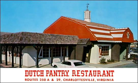 Dutch Pantry Restaurant Menu